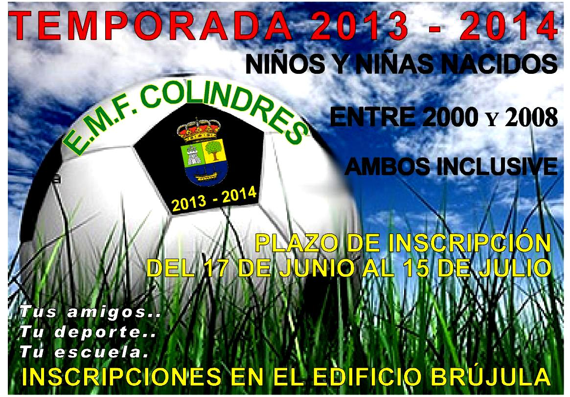 INSCRIPCION 2013-2014